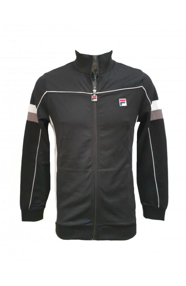 Slalom Funnel Neck Track Jacket Black