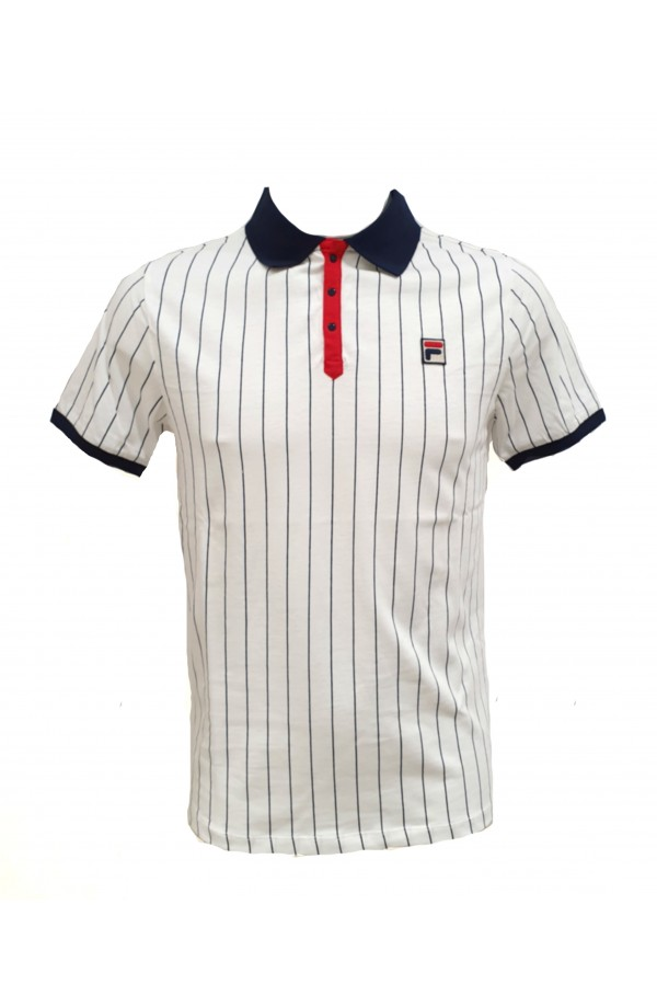 Classic Vintage Striped Polo