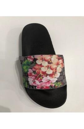 Floral Slider Black