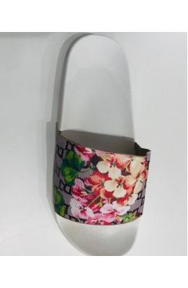 Floral Slider White