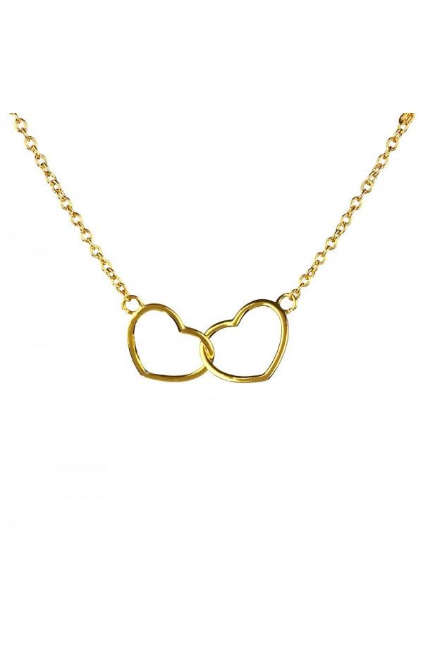 Kismet Heart Necklace Gold