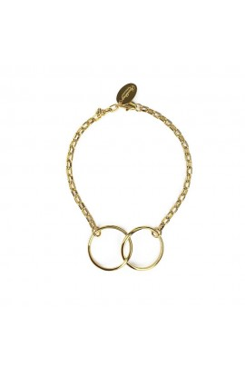 Kismet Two Ring Bracelet Gold