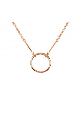 Kismet-Karma Necklace Rose Gold