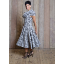 Bardot 50's Dress Aztec