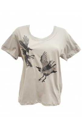 Rook T-Shirt Grey