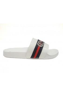 Stripe Slider White