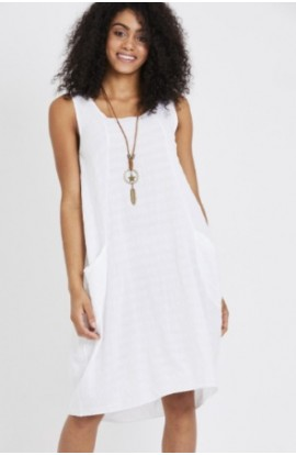 Necklace Dress White