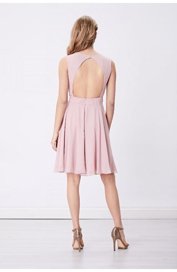 Bead Top Dress Pink