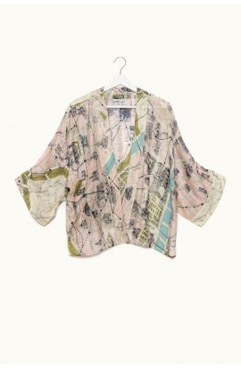 One Hundred Stars Paris Kimono