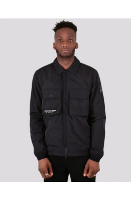 Molecular Overshirt Black
