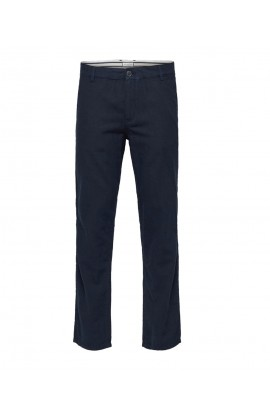 Paris Linen Pants Navy