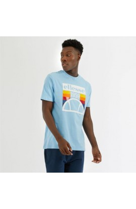 Ellesse Pirozzi T Shirt Light Blue