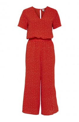 Bright Jumpsuit Coral