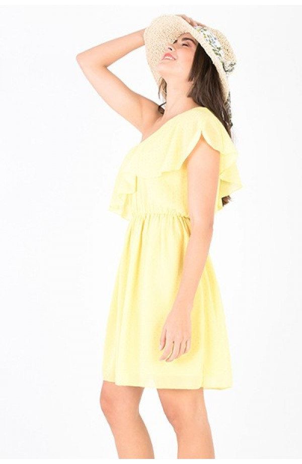Bridget Dress Yellow