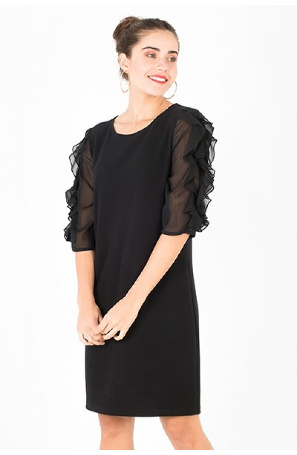 Makalya Dress Black