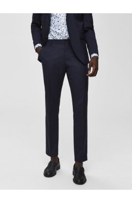 Logan Navy Trousers