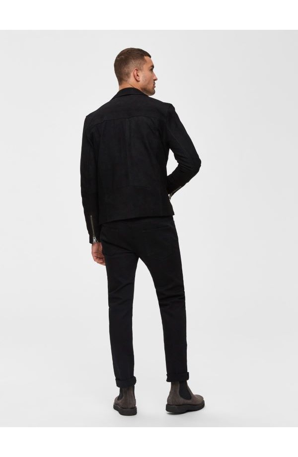 Leon Slim Leg Jeans Black