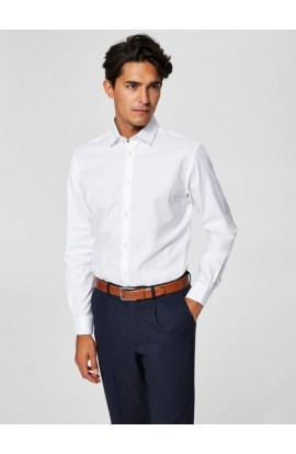 Mark Shirt Slim Fit Bright White