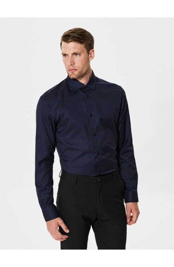 Mark Shirt Slim Fit Navy