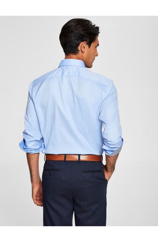 Mark Shirt Slim Fit Light Blue