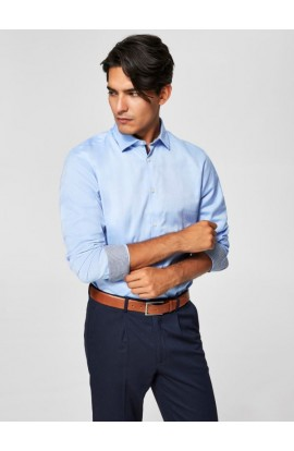 Mark Shirt Slim Fit Light Blue