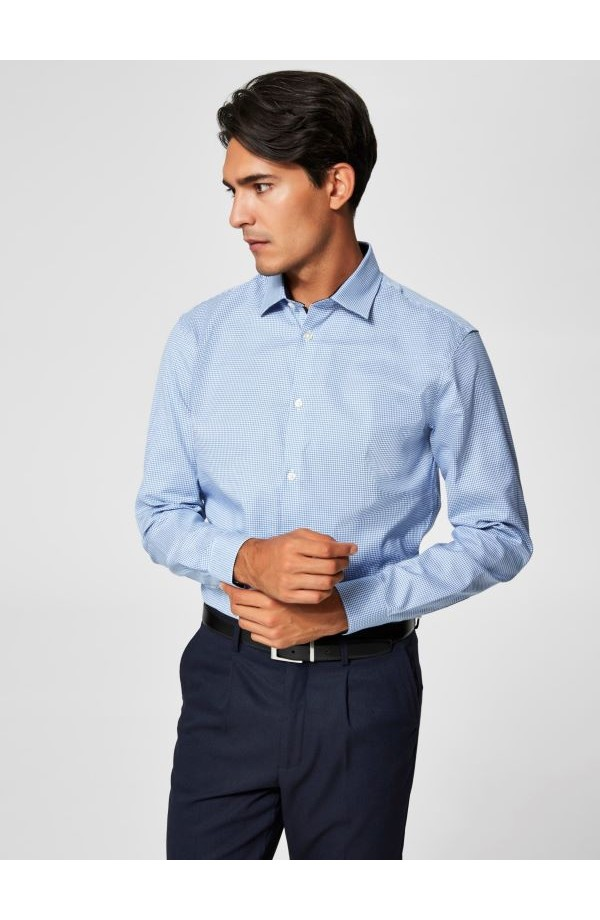 Mark Shirt Slim Fit Skyway Checks