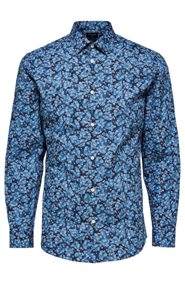 Slimpen Blue Shirt