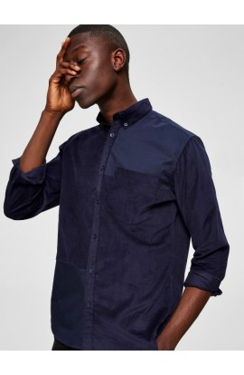 Correy Shirt Slim Fit Navy