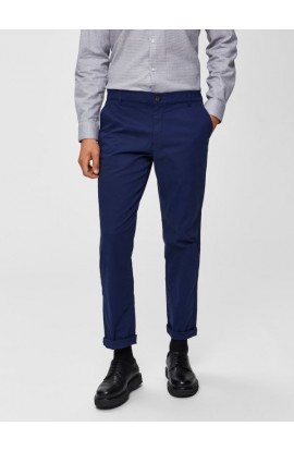 Paris Straight Leg Navy Chino