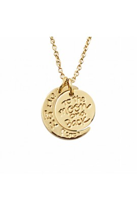 I Love You To The Moon And Back Necklace Gold