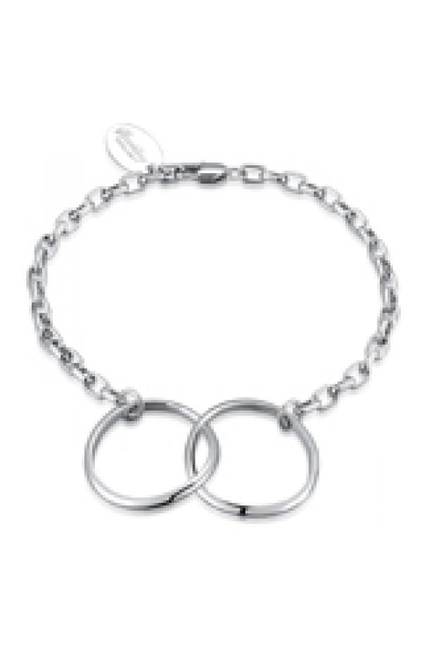 Iconic Double Kismet Bracelet Silver