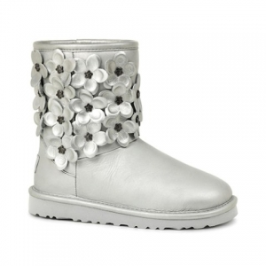 UGG Youth Classic Short Flora Sterling
