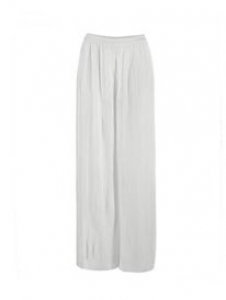Pleated Trouser Cream