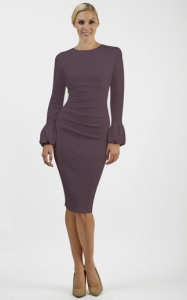 Appleford Dress Purple
