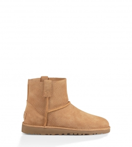 UGG Classic Unlined Mini Perf 1016852 Chestnut