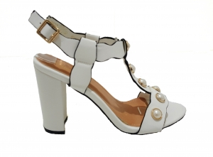 Pearl White Heel
