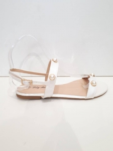 Pearl Sandal White