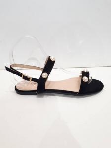 Pearl Sandal Black
