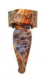 Kevan Jon Kyoto Dress