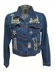 Embellished Denim Jacket