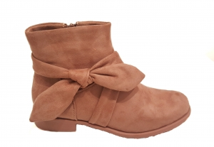 Bow Side Chelsea Boot Pink
