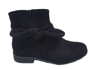 Bow Side Chelsea Boot Black