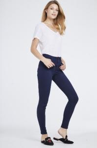 Toxik 3 High Waist Soft Skinny Jeans Blue